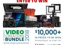 Join the 2018 Video Creators $10,000+ Giveaway, Now Live!