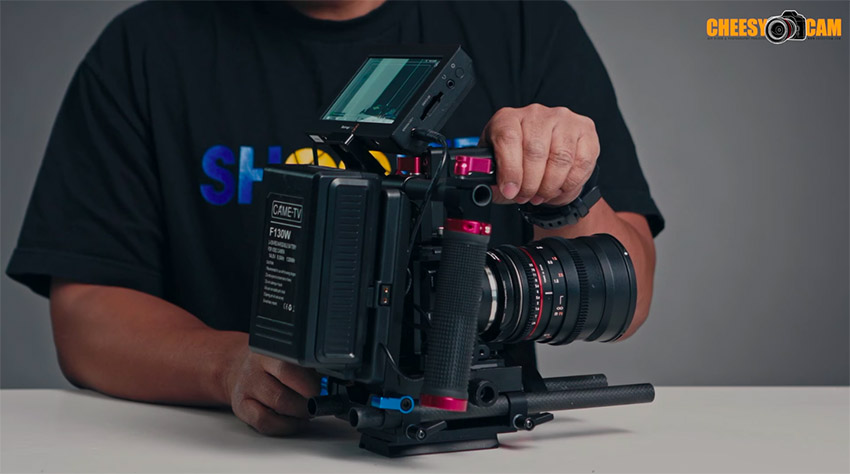 Building The Ultimate Blackmagic Design Micro Cinema Camera Rig 4k Shooters