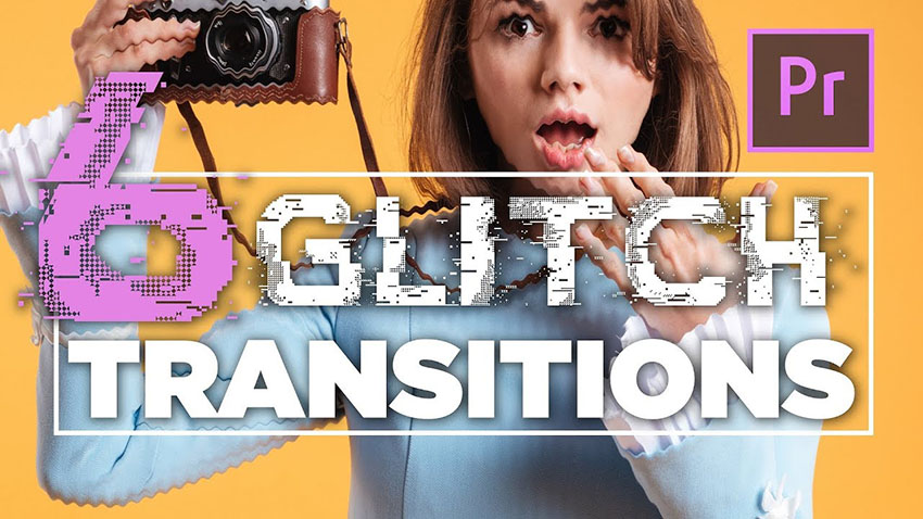 Download This Free Glitch Transition Preset Pack for Premiere Pro CC