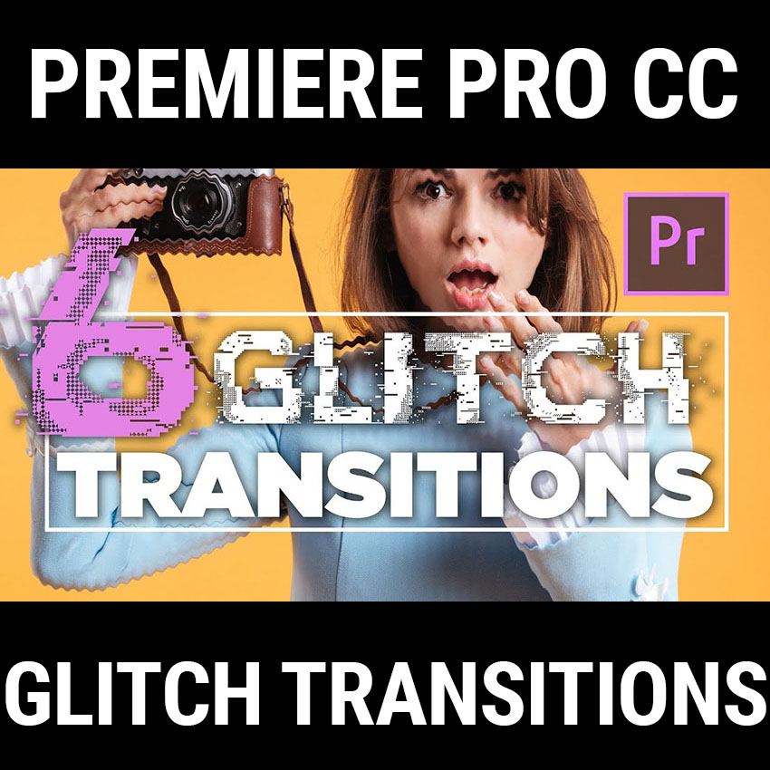 Download This Free Glitch Transition Preset Pack for