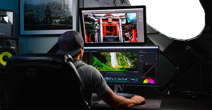 ultrawide monitor for photo editing