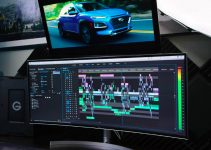 Video Editing Setup Built Around the LG 38WK95C-W UltraWide Curved HDR Monitor