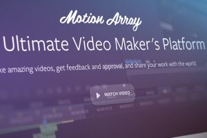 Motion Array: The Motion Graphics Marketplace Turned Video Maker's Dream