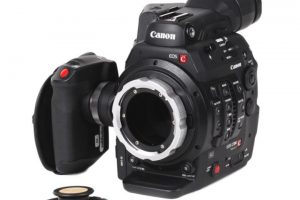 Wooden Camera Canon C300 Mark II PL Modification Kit Now Shipping!