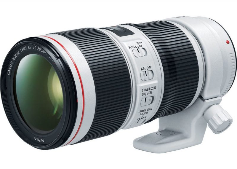 Canon 70-200mm f4L IS II front collar
