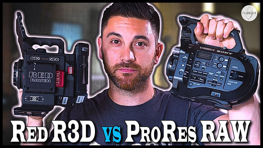 ProRes RAW vs  REDCODE RAW - Which One is Better? | 4K Shooters