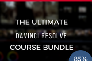 4th July Sale! Save 85% on The Ultimate DaVinci Resolve 15 Course Bundle + FREE Gift