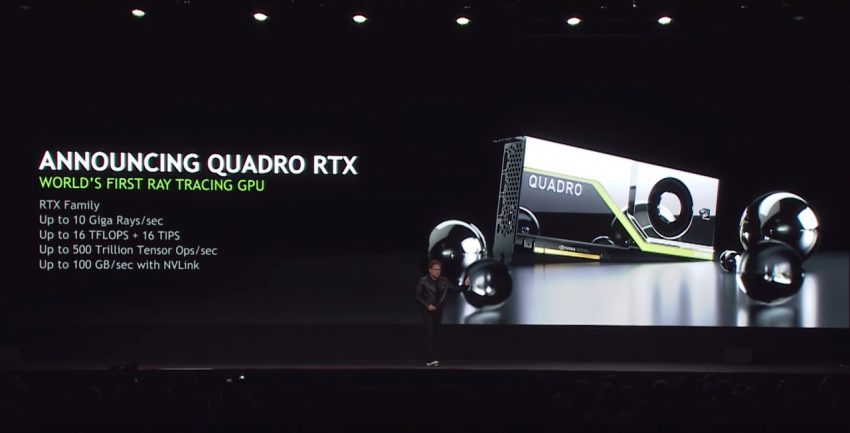 NVIDIA Quadro RTX Turing GPUs Enable 8K Real Time Workflows