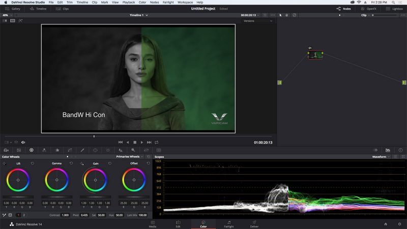 Panasonic Release 3D LUT Library for Varicam and Panasonic