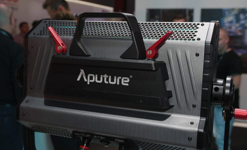 Aputure RGB light IBC 2018