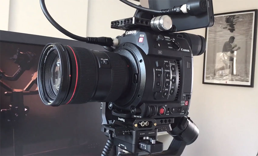 A Neat Trick to Mount the Canon C200 to Your Ronin-S | 4K