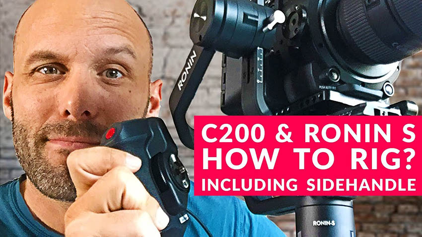 A Neat Trick to Mount the Canon C200 to Your Ronin-S | 4K Shooters