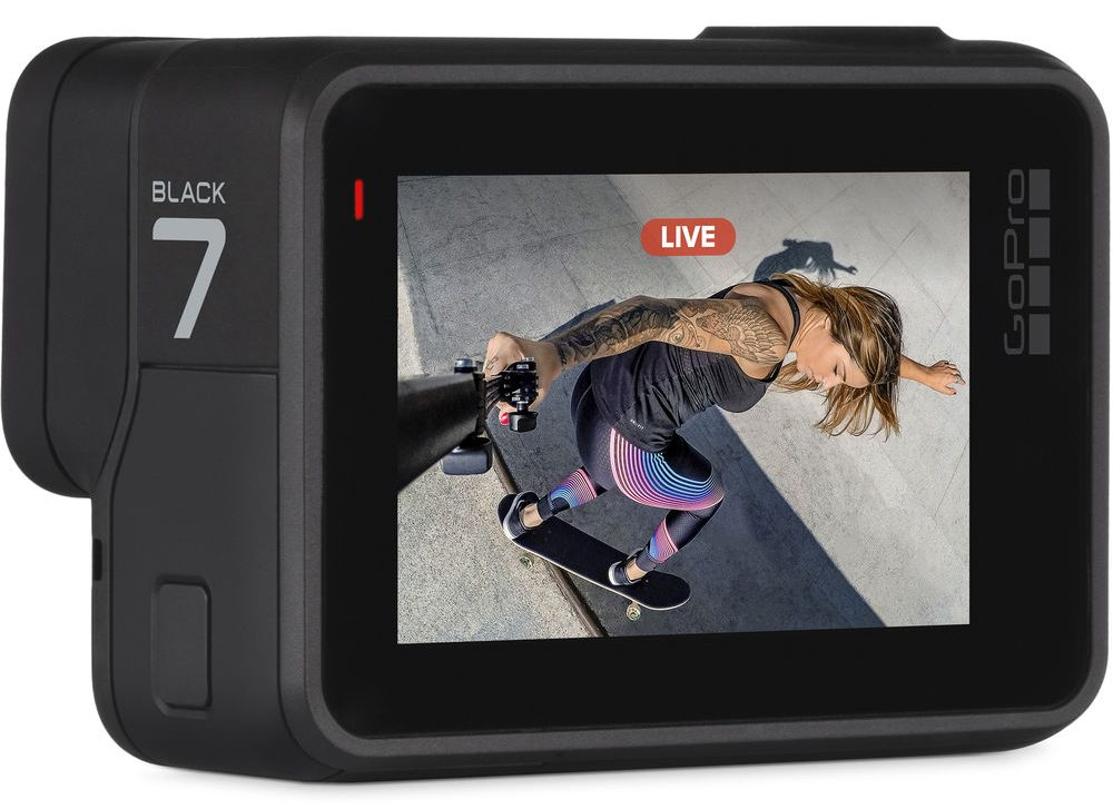 GoPro Hero7 Black Shoots Smooth 4K/60p Video Without a