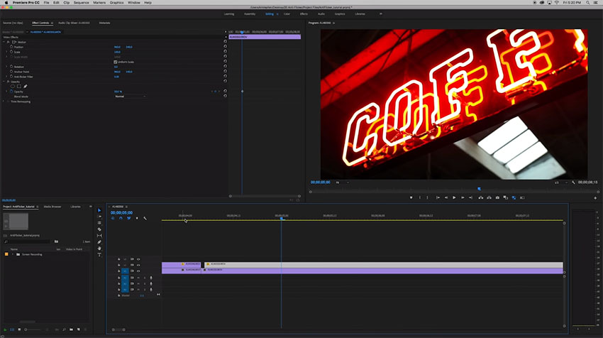 flicker free premiere pro download