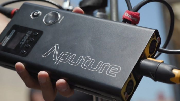 Aputure 120D II Control Unit Power V-mount