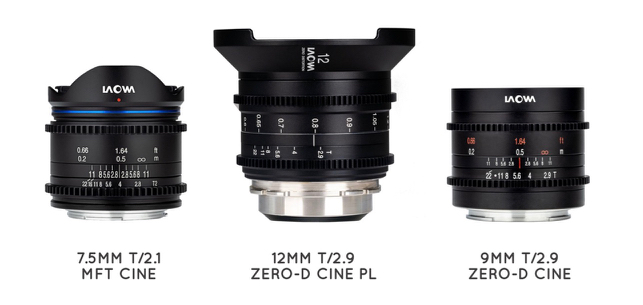 Venus Optics Laowa Cine Primes