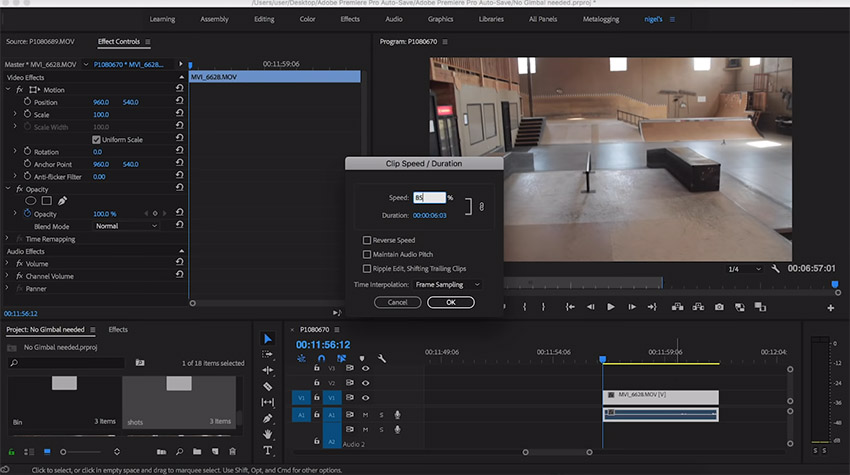 How to Produce Smooth Video Without a Gimbal | 4K Shooters