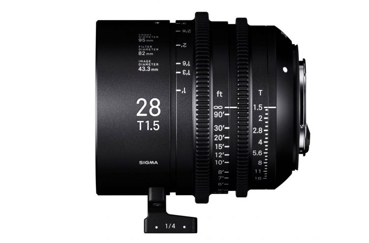 Sigma 28mm T1.5 FF high Speed Cine Prime