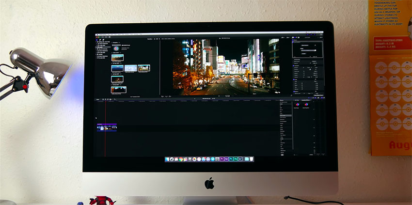 8K Video Editing on a iMac 01