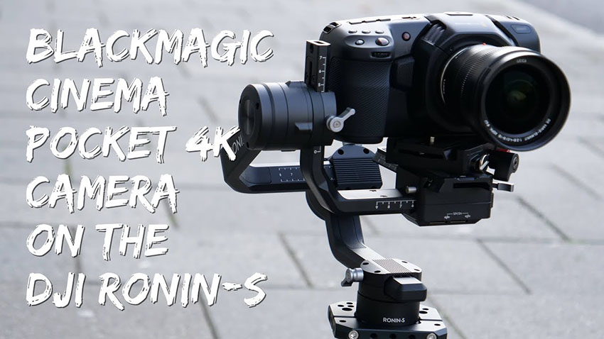 Mounting Bmpcc 4k On The Dji Ronin S 4k Shooters