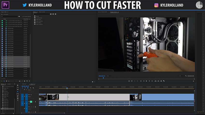 How to Cut Faster in Premiere Pro CC 02
