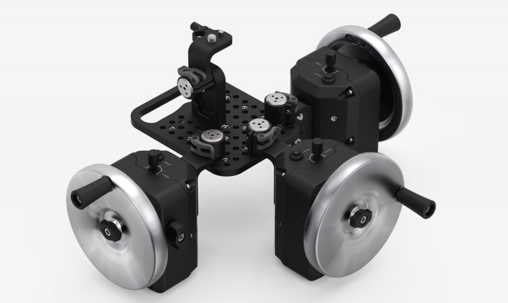 Movi Wheels controller 3-axis pan tilt roll