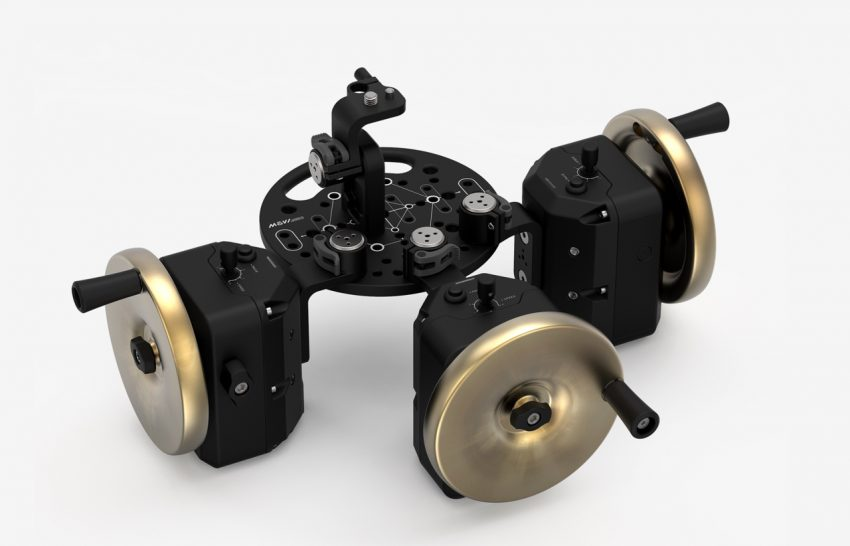 Brass Movi Wheels - Freefly Systems Movi PRO