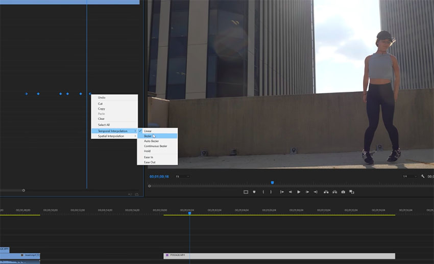 Slick Motion Effect in Premiere Pro CC 03