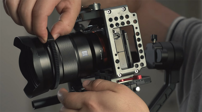 Zhiyun Crane 2 Follow Focus System 02
