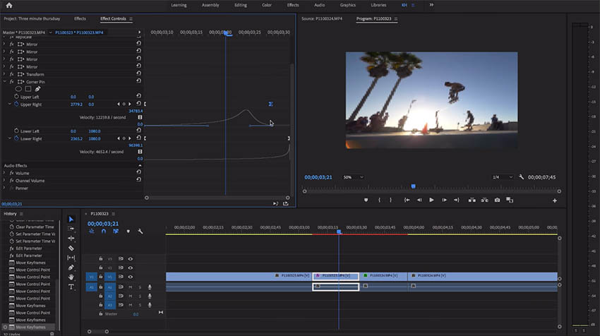 Dope Stretch Transition in Premiere Pro CC | 4K Shooters