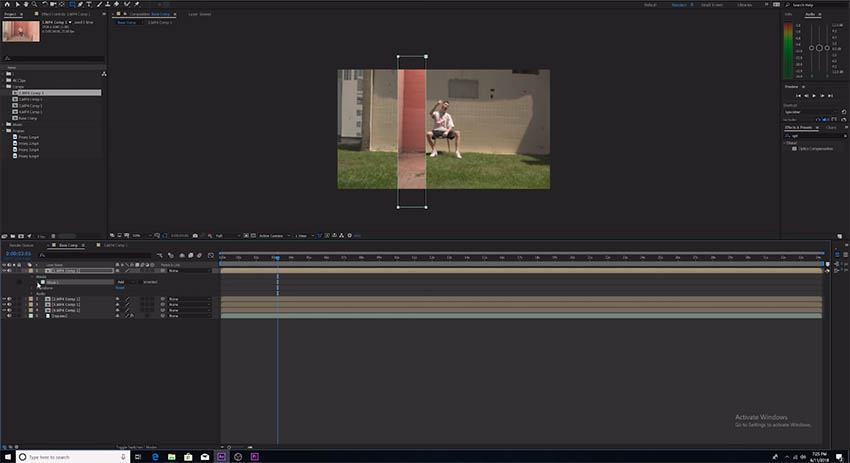 Check Out This Crazy Mask Transition in After Effects CC