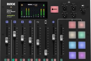 RODECaster Pro Firmware Version 2.0 Now Available