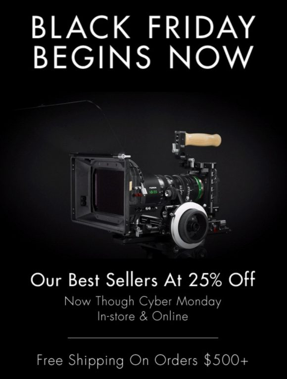 Wooden Camera Black Friday Sale Deals 2018