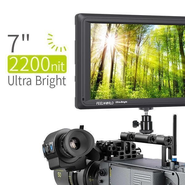 came-tv mt-s704 ultra bright field monitor 7 inch
