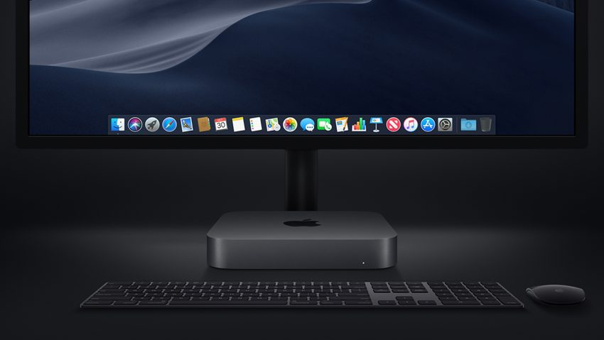 APple Mac Mini 2018 Desktop setup