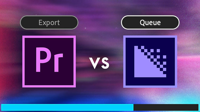 What's the Difference Between Queue and Export in Premiere Pro CC
