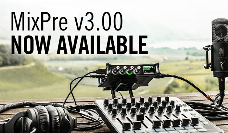 Sound Devices MixPre firmware v3.00