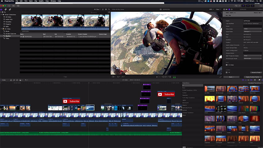 Premiere Pro CC vs Final Cut X: Which is the Best Video
