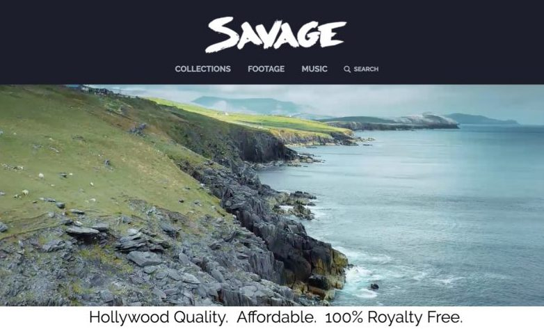 Savage Stock - A new Platform for High-End 4K, 8K, Aerial Footage