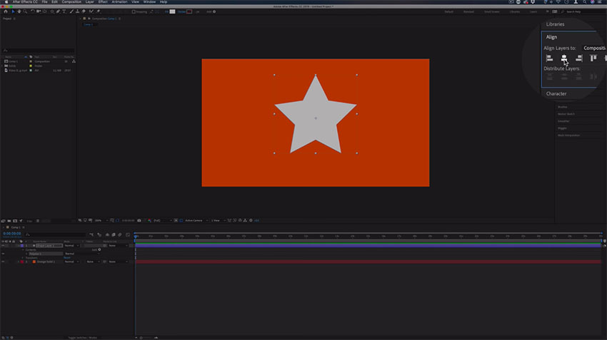 How to Place Video in Text or Shape in After Effects CC   4K