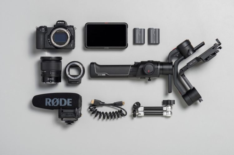 nikon z6 filmmakers kit atomos ninja v moza air 2