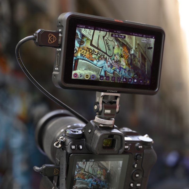NIkon Z7 ProRes Raw Apple Atomos Ninja V