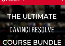 Grab the Ultimate DaVinci Resolve Course Bundle with 85% OFF! Limited Time Offer!