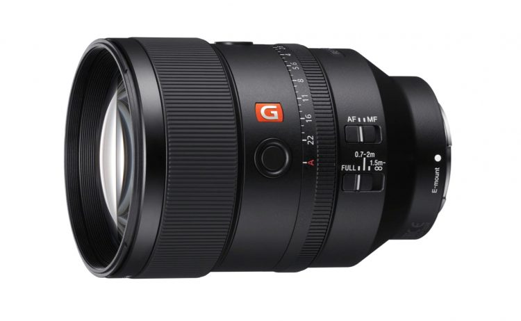 Sony FE 135mm f1.8 GM G master E mount
