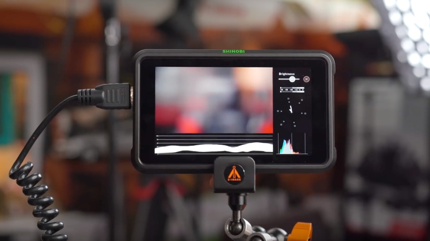 Atomos Shinobi Multi-scope Monitor Mode