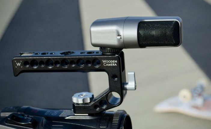 WC VX Mic Skateboarding Wooden Camera