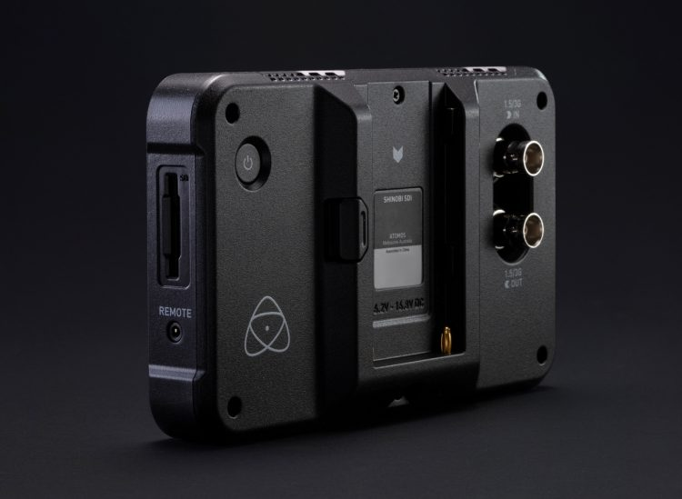 Shinobi 5 inch SDI Atomos Side