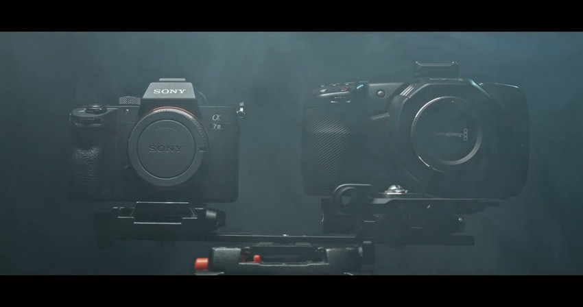 BMPCC 4K vs Sony A7III Side-by-Side Comparison | 4K Shooters