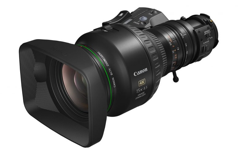 Canon 4K UHD Broadcast Zoom Lens