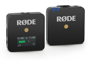 Rode wireless Go Front TX RX
